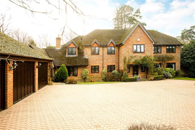 Offers in excess of £1,950,000, 5 Bedroom Detached House For Sale in Leatherhead, Surrey, KT22