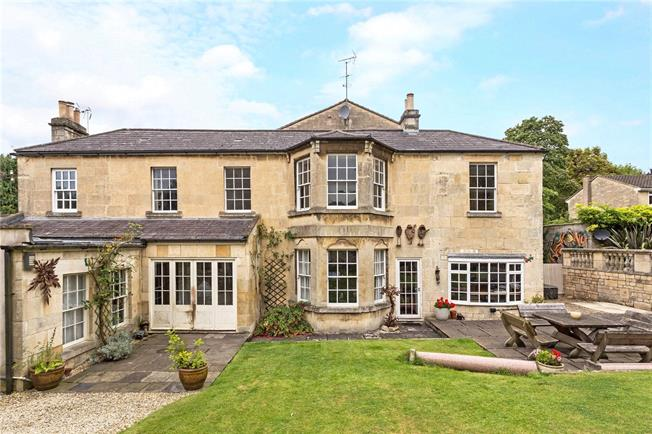 Guide Price £1,650,000, 4 Bedroom Detached House For Sale in Bath, BA1