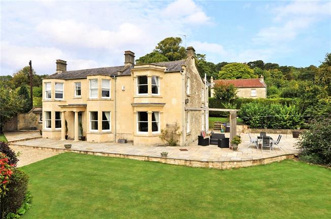 Guide Price £1,350,000, 5 Bedroom Detached House For Sale in Batheaston, BA1