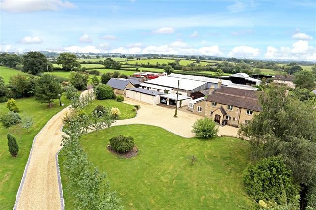 Guide Price £999,000, 5 Bedroom Detached House For Sale in Malmesbury, Wiltshire, SN16