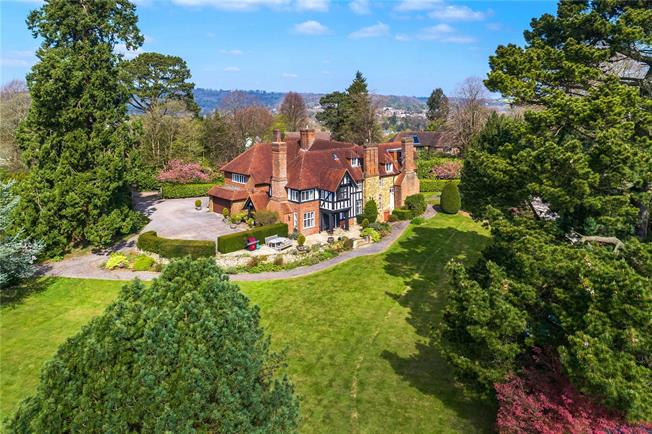 Guide Price £1,895,000, 7 Bedroom Detached House For Sale in Surrey, RH2