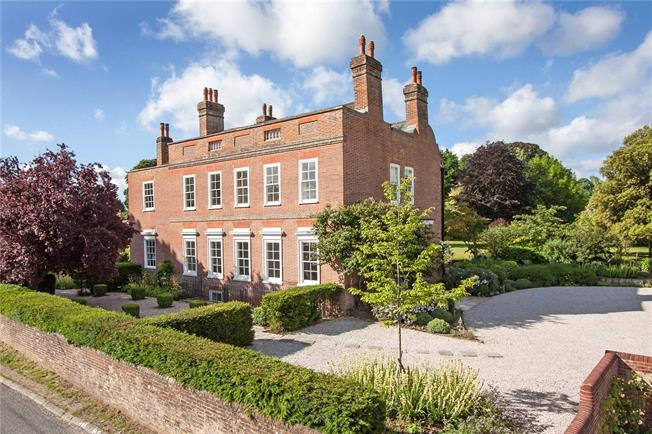 Guide Price £4,950,000, 7 Bedroom Detached House For Sale in Winchester, Hampshire, SO21