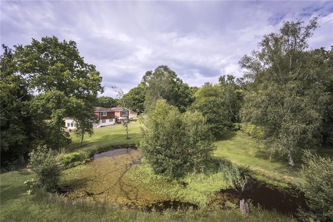 Guide Price £1,650,000, 6 Bedroom Detached House For Sale in Ringwood, Hampshire, BH24