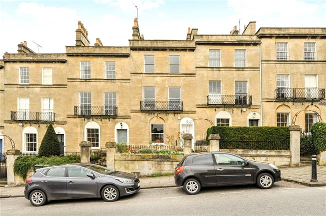 Offers in excess of £1,000,000, 4 Bedroom Terraced House For Sale in Bath, BA2
