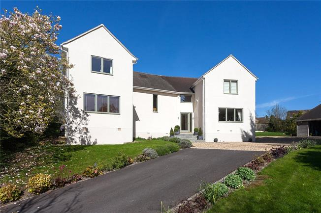Guide Price £1,150,000, 5 Bedroom Detached House For Sale in Batheaston, BA1