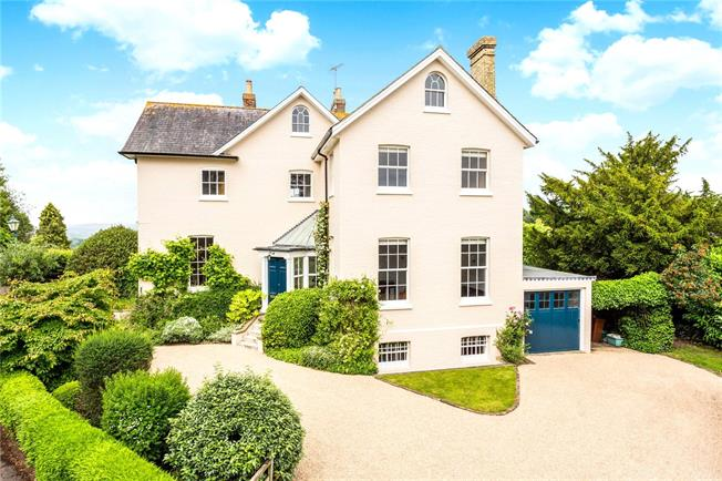 Asking Price £1,500,000, 6 Bedroom Detached House For Sale in Bidborough, TN3