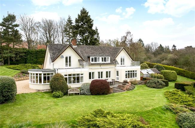 Offers in excess of £975,000, 5 Bedroom Detached House For Sale in Berkshire, RG14