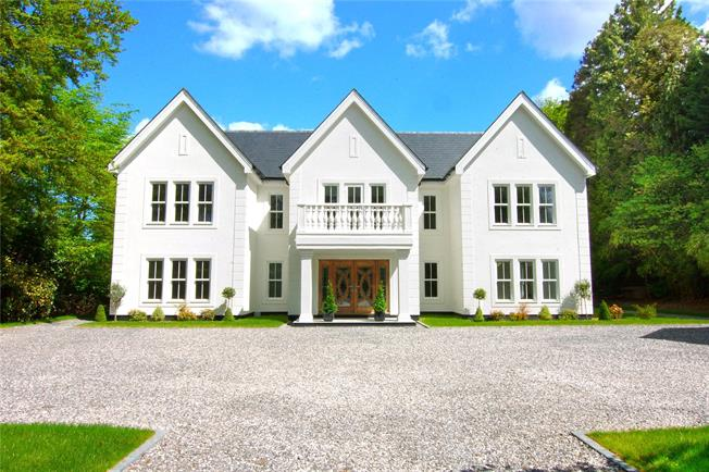 Guide Price £2,250,000, 6 Bedroom Detached House For Sale in Camberley, GU15