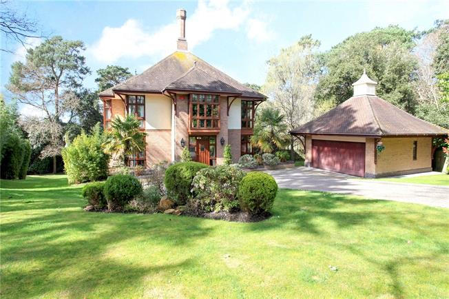 Guide Price £2,250,000, 5 Bedroom Detached House For Sale in Poole, Dorset, BH14
