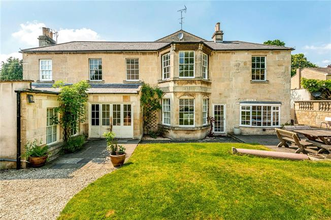 Guide Price £1,625,000, 5 Bedroom Detached House For Sale in Bath, BA1