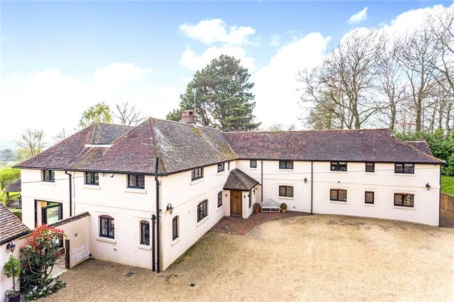 Offers in excess of £2,000,000, 7 Bedroom Detached House For Sale in Henfield, West Sussex, BN5