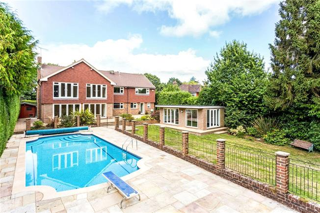 Asking Price £1,500,000, 6 Bedroom Detached House For Sale in Langton Green, TN3
