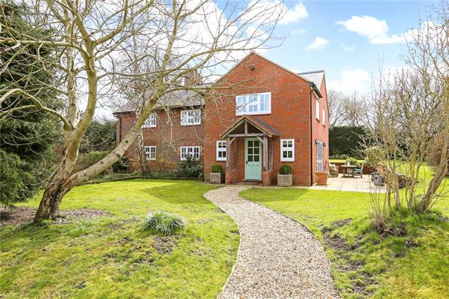 Guide Price £1,200,000, 4 Bedroom Detached House For Sale in Wiltshire, SN8