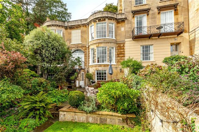 Guide Price £1,000,000, 4 Bedroom Terraced House For Sale in Bath, BA1