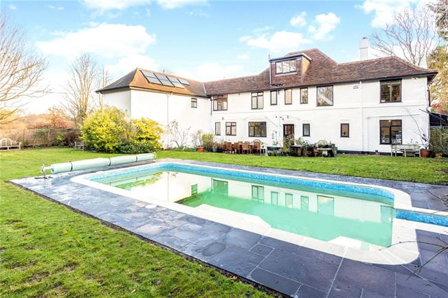 Guide Price £1,500,000, 6 Bedroom Detached House For Sale in Kent, TN14