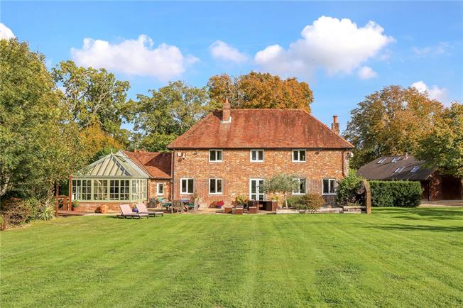 Offers in excess of £1,750,000, 4 Bedroom Detached House For Sale in Hambledon, PO7