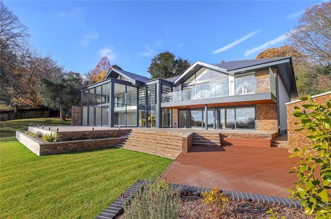 Guide Price £2,695,000, 5 Bedroom Detached House For Sale in Hampshire, BH24