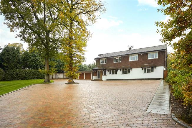 Offers in excess of £1,500,000, 5 Bedroom Detached House For Sale in Tadworth, Surrey, KT20