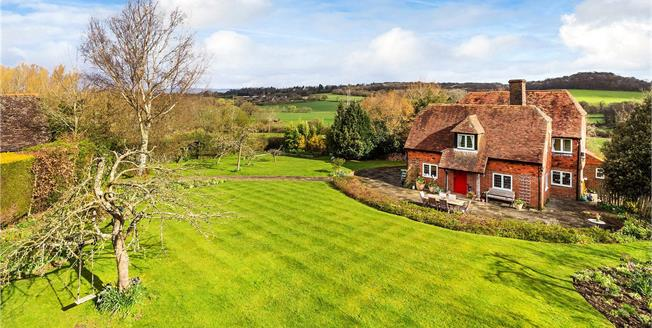 Guide Price £1,695,000, 4 Bedroom Detached House For Sale in Penshurst, Kent, TN11