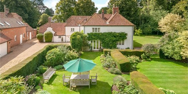 Guide Price £2,000,000, 6 Bedroom Detached House For Sale in Bishop's Sutton, SO24