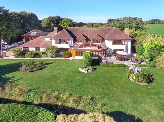 Offers in excess of £2,000,000, 5 Bedroom Detached House For Sale in Hampshire, PO17