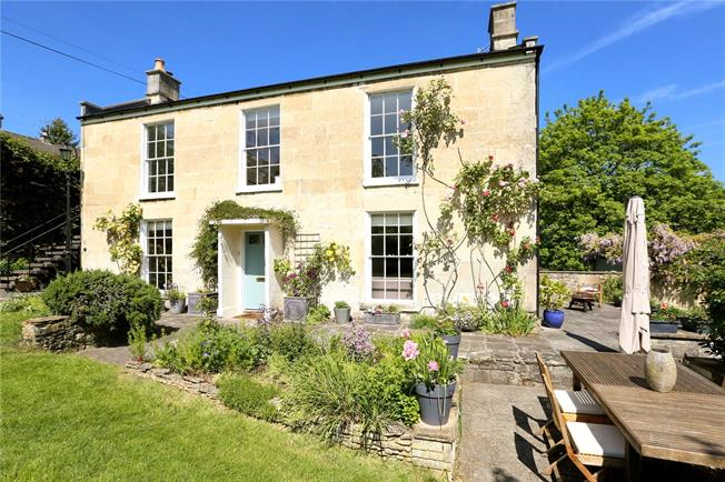Guide Price £1,250,000, 4 Bedroom Detached House For Sale in Bath, BA1