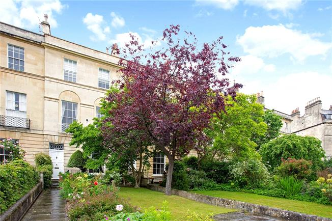 Guide Price £1,100,000, 3 Bedroom Terraced House For Sale in Bath, BA1