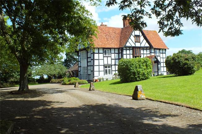 Guide Price £1,050,000, 6 Bedroom Detached House For Sale in Hill, WR10