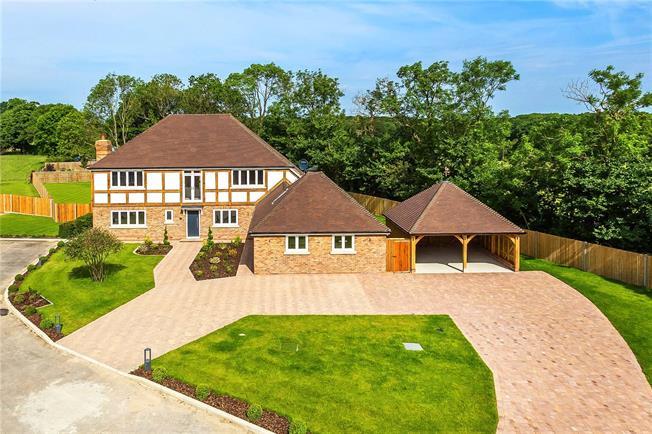 Guide Price £1,600,000, 5 Bedroom Detached House For Sale in Edenbridge, TN8