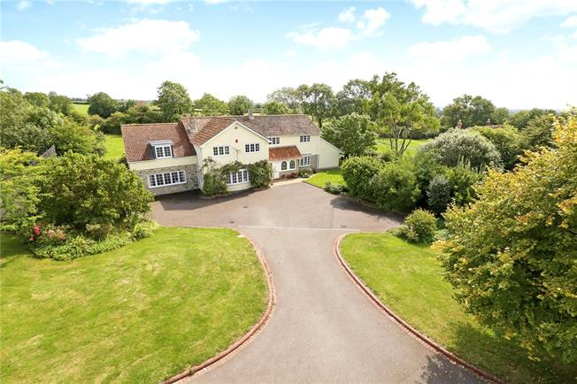 Guide Price £1,150,000, 5 Bedroom Detached House For Sale in Stone Allerton, BS26