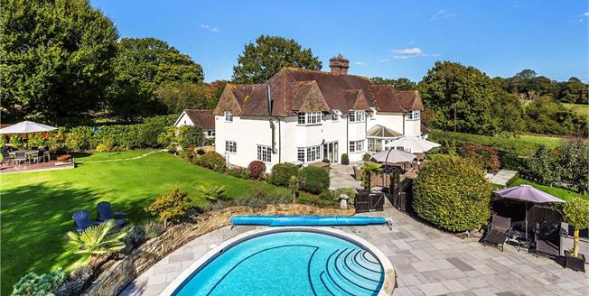 Guide Price £1,695,000, 6 Bedroom Detached House For Sale in Mayfield, East Sussex, TN20