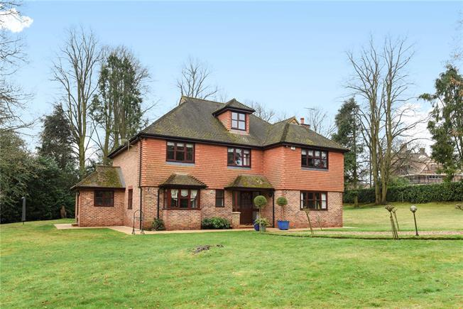 Guide Price £1,700,000, 5 Bedroom Detached House For Sale in Surrey, GU22