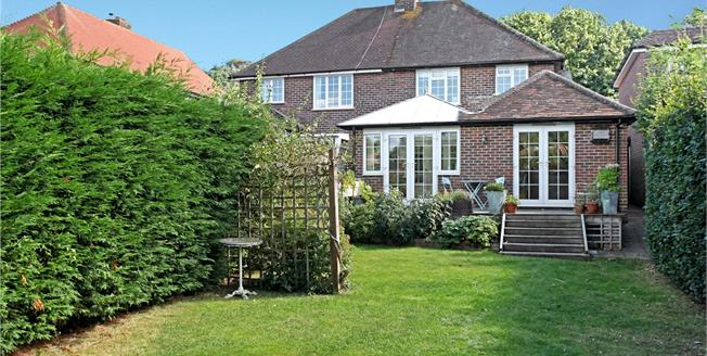 Guide Price £615,000, 4 Bedroom Semi Detached House For Sale in Guildford, Surrey, GU5