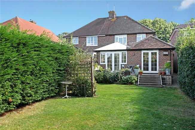 Guide Price £615,000, 4 Bedroom Semi Detached House For Sale in Wonersh, GU5