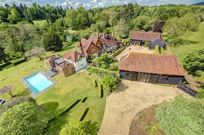 Offers in excess of £6,000,000, 7 Bedroom Detached House For Sale in Guildford, Surrey, GU5