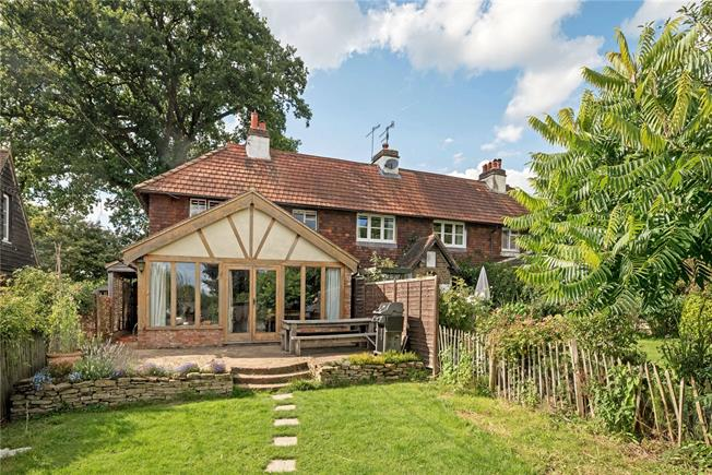 Guide Price £485,000, 2 Bedroom Semi Detached House For Sale in Shere, GU5