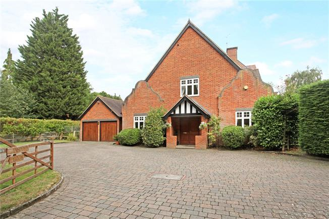 Guide Price £925,000, 5 Bedroom Semi Detached House For Sale in Send, GU23