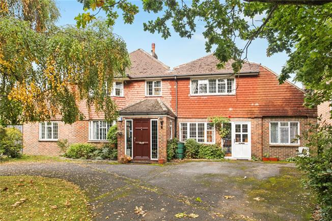 Offers in excess of £1,000,000, 5 Bedroom Detached House For Sale in Woking, Surrey, GU23