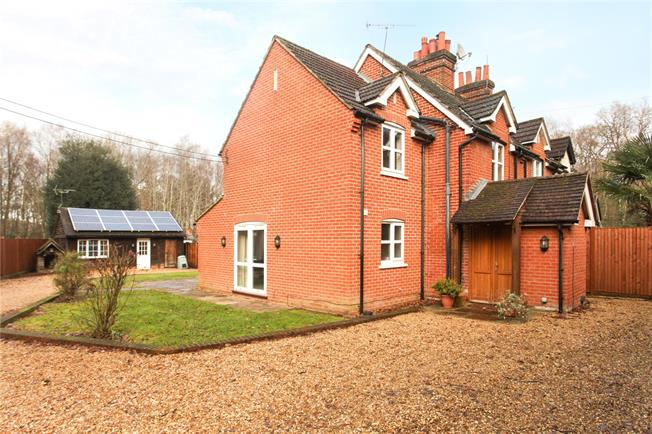 Guide Price £530,000, 4 Bedroom Semi Detached House For Sale in Guildford, Surrey, GU3