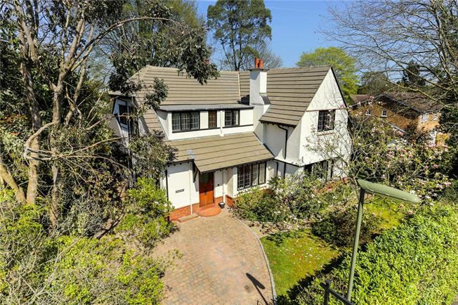 Guide Price £1,200,000, 5 Bedroom Detached House For Sale in Surrey, GU22