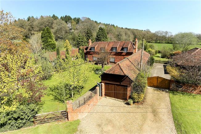 Guide Price £1,350,000, 5 Bedroom Detached House For Sale in Normandy, GU3