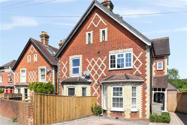 Asking Price £545,000, 3 Bedroom Semi Detached House For Sale in Chilworth, GU4