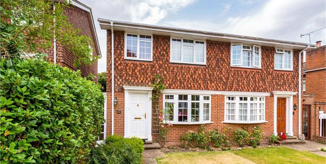Guide Price £525,000, 3 Bedroom Semi Detached House For Sale in Guildford, GU1