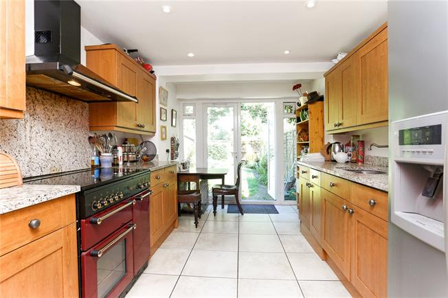 Guide Price £375,000, 3 Bedroom End of Terrace House For Sale in Bramley, GU5