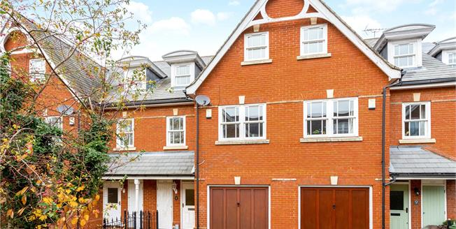 Guide Price £785,000, 4 Bedroom Terraced House For Sale in Surrey, GU1
