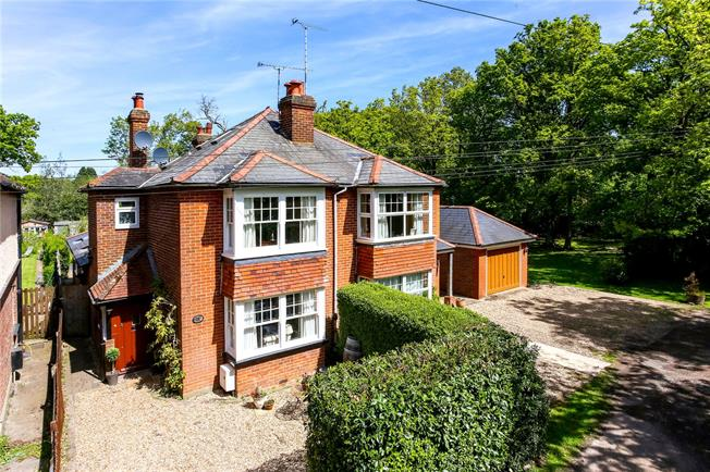 Guide Price £765,000, 4 Bedroom Semi Detached House For Sale in Woking, GU22