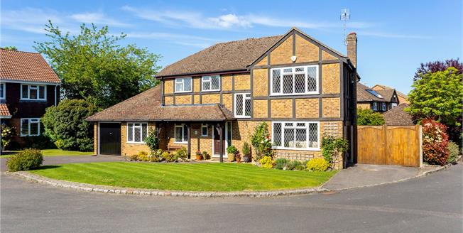 Asking Price £925,000, 4 Bedroom Detached House For Sale in Guildford, GU4