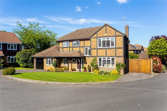 Asking Price £925,000, 4 Bedroom Detached House For Sale in Surrey, GU4