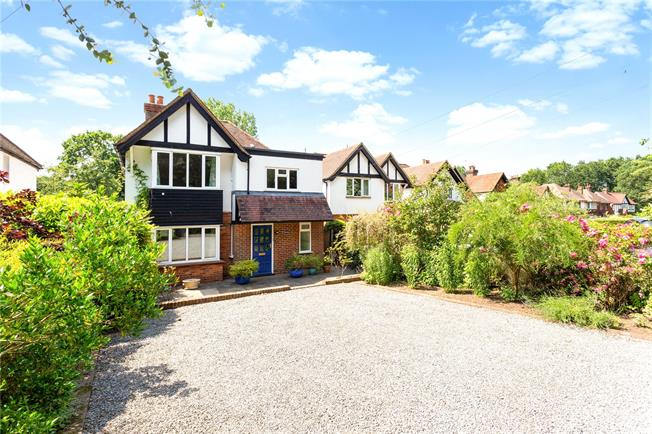 Guide Price £865,000, 4 Bedroom Detached House For Sale in Shalford, GU4