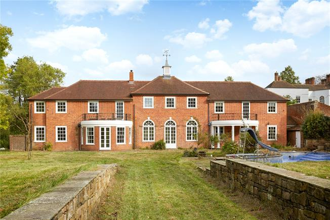 Guide Price £1,950,000, 5 Bedroom Detached House For Sale in Guildford, Surrey, GU3